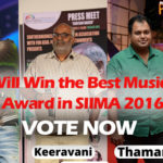 Vote for the Best Music Director| SIIMA Awards 2016