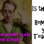 Do you remember your teacher in that way…???