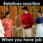 Telugu Funny Video – Hilarious reactions of Relatives