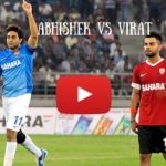 Celebrity Classico (Football match) by Startsports Abhishek Vs Kohli on 4th June 2016
