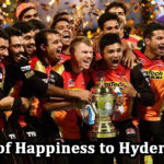 SRH shares their Happiness with Hyderabadis | Trophy displayed in Malls