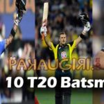 Top 10 T20 Batsmen in Cricket