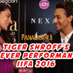 First Performance IIFA Awards | Tiger Shroff Interview