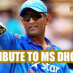 Tribute to Ms Dhoni – Dhoni Inspirational Video