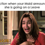 When Maid takes a Leave