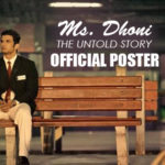 MS Dhoni official Poster   Sushant Singh Rajput