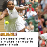 Serena Williams in Quarter Finals