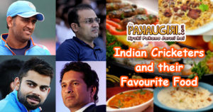 Indian Cricketers Favourite Food