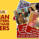 Indian Cricketers with their Sisters | Raksha Bandhan Special