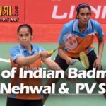 Respect the Gems of Indian Badminton Saina Nehwal &  PV Sindhu