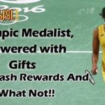 Olympic medalist, PV Sindhu showered with Gifts | BMW To Cash Rewards