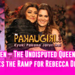 Sushmita Sen – The Undisputed Beauty Queen, Walks the Ramp for Rebecca Dewan
