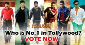 No.1 Hero In Tollywood