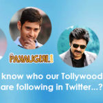 Tollywood Top Heros Following in Twitter