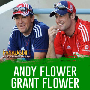 Andy Flower and Grant Flower