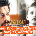 Shahrukh Khan was a little late, but its worth it!!!