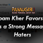Anupam Kher Favors SRK – Gives a Strong Message to Haters