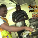 Chris Gayle & Dwayne Bravo Cook Hot Hot Bajjis
