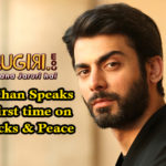 Fawad Khan Speaks for the first time on Uri Attacks & Peace