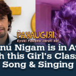 Sonu Nigam is in Awe with this Girl's Class of Song & Singing