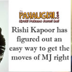Rishi Kapoor Figures Out , how to get Michael Jackson's Walk