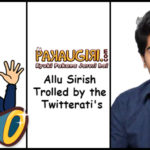 Allu Sirish Trolled by the Twitterati's