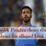 Hardik Pandya Clears the Air about his alleged Link Up