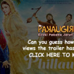 Anushka Sharma's Phillauri trailer Creating a Sensation on Social media
