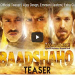 Baadshaho Teaser is nothing less than a Storm