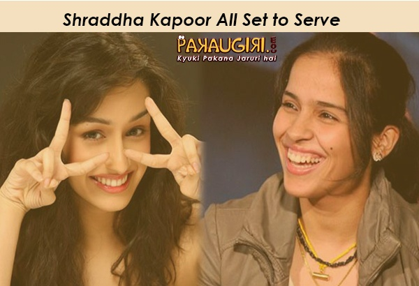 Shraddha Kapoor All Set to Serve