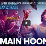 "Tiger Shroff does the Michael Jackson in ""Main Hoon"""