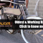 One of the Oldest & Working Harley Davidson bikes!!!