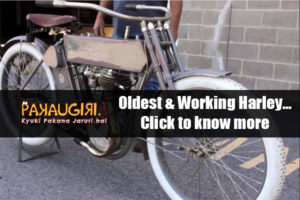 Oldest & Working Harley Davidson bikes