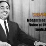 Mohammed Rafi's Voice at UNO in English will take you back