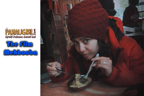Charmme Kaur Makes the best out of her Shooting Schedule