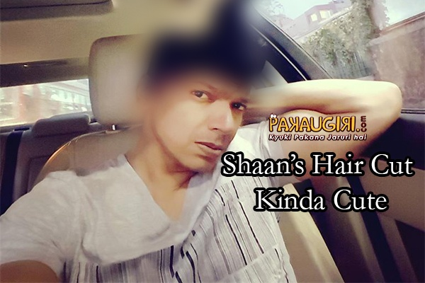 Shaan New Hair Style is Uber Cool